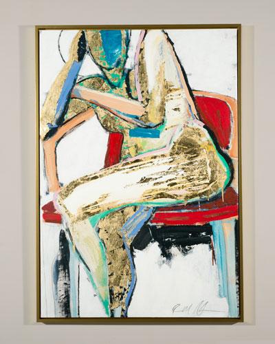 Golden Girl Giclee Canvas Art by Robert Robinson