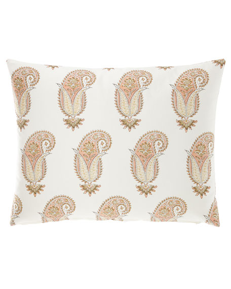 Willow Paisley King Sham