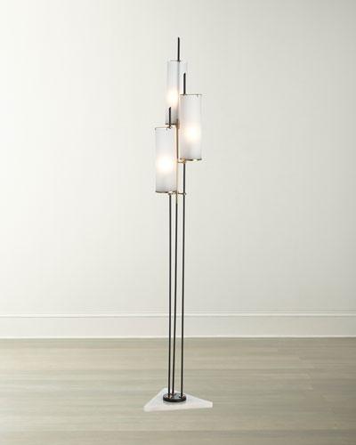 Floor Lamps Crystal Amp Brass Floor Lamps At Neiman Marcus