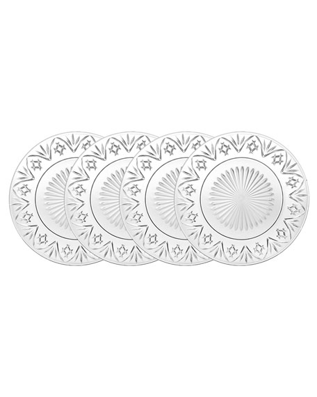 Godinger Dublin Dinner Plates, Set of 4