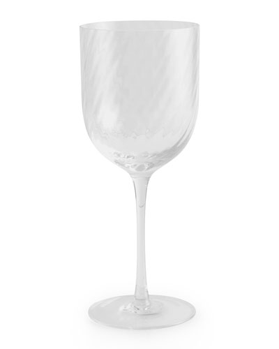 Twist Diamond Wine Glass