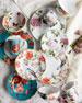 Danielles Flowers 16-Piece Dinnerware Service