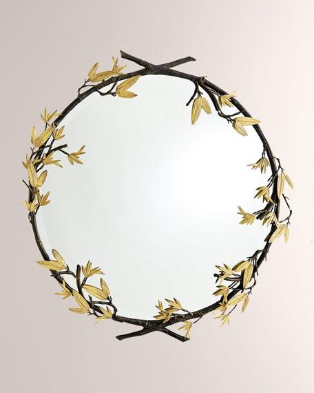 Bamboo Bronze Mirror