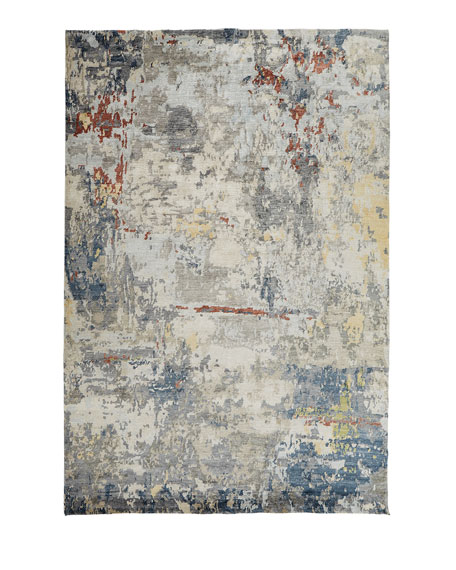 Champion Hand-Knotted Rug, 9' x 12'