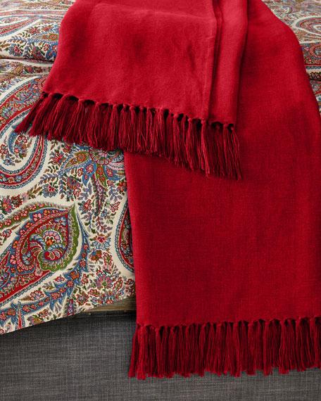 Ralph Lauren Home Everly Throw Blanket, 54