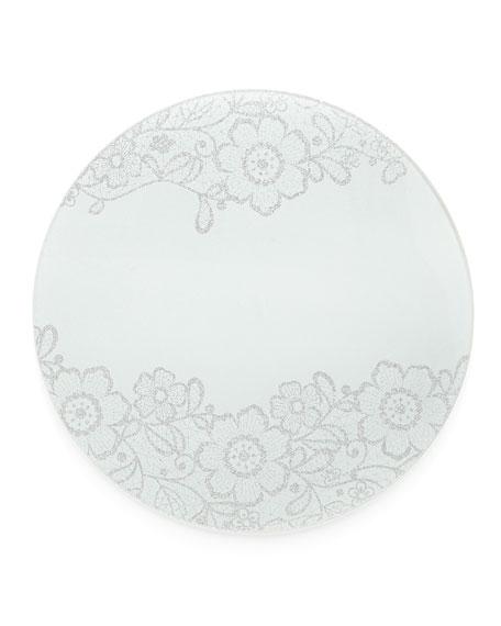 Flower Glass Elegant Placemat