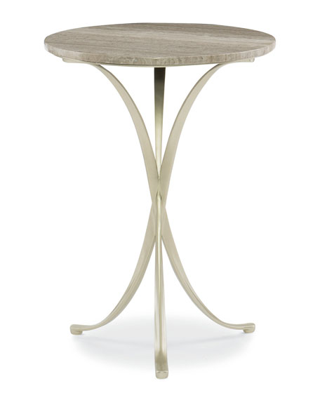 Rolling Stone Accent Table