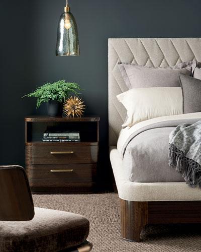 Moderne King Bed