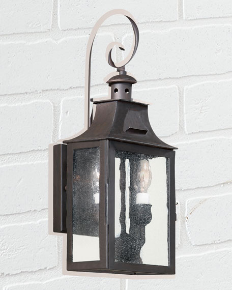 Small Hanging Newton Sconce