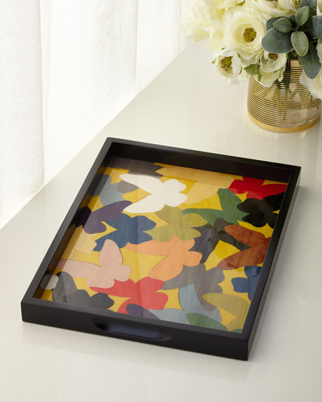 Barile Biagio Butterfly Tray