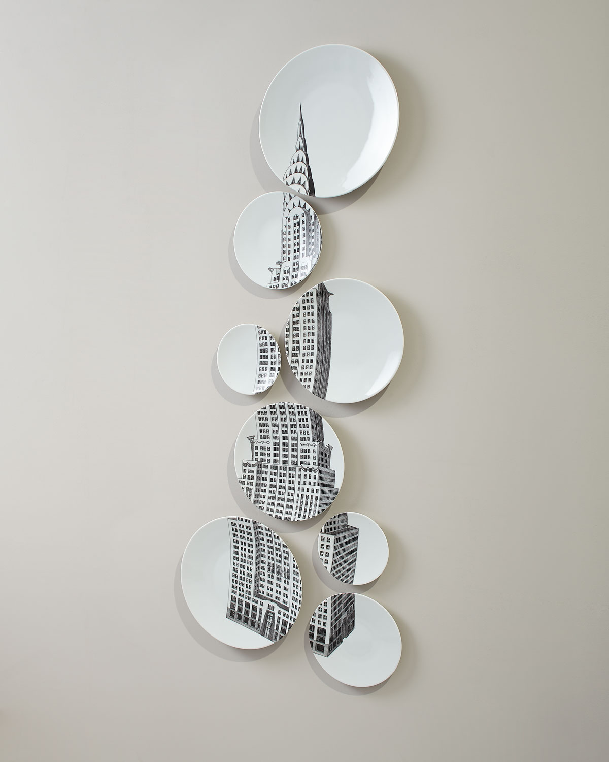 Manufacture De Longchamp Depuis 1832chrysler Building Plate Set