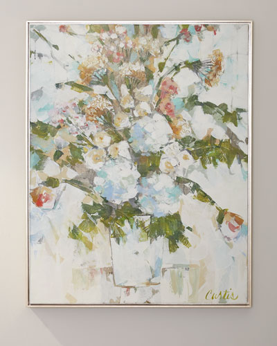 Wedding Bouquet Giclee Canvas Art by Joan Curtis