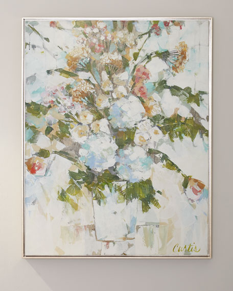 """Wedding Bouquet"" Giclee Canvas Art by Joan Curtis"