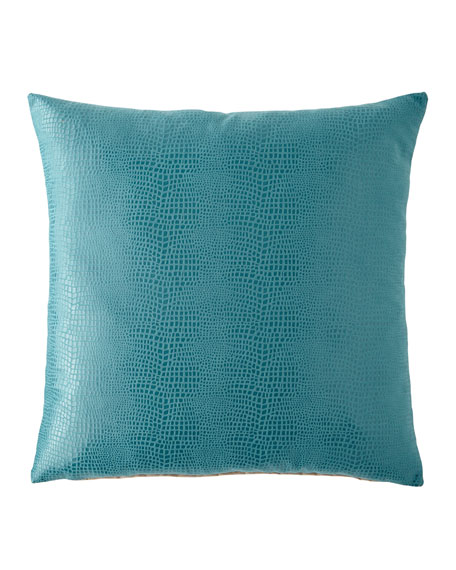 Eastern Accents Nagini Teal Decorative Pillow