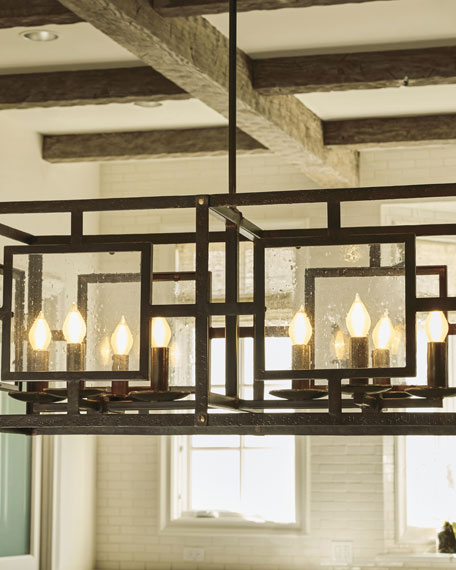 El Rectangular Chandelier