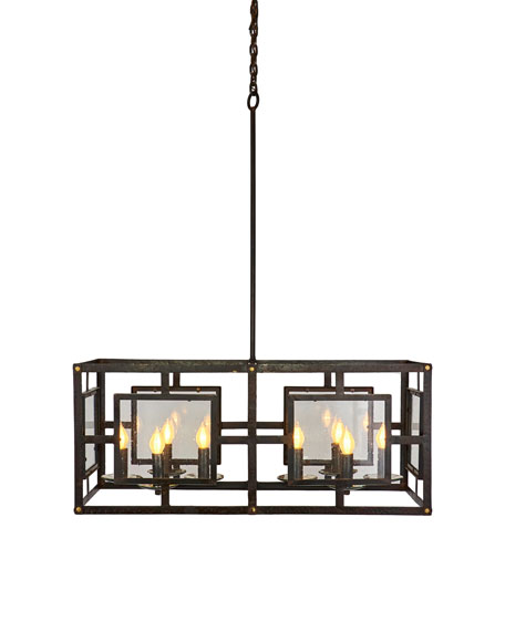 Jan Barboglio El Rectangular Chandelier
