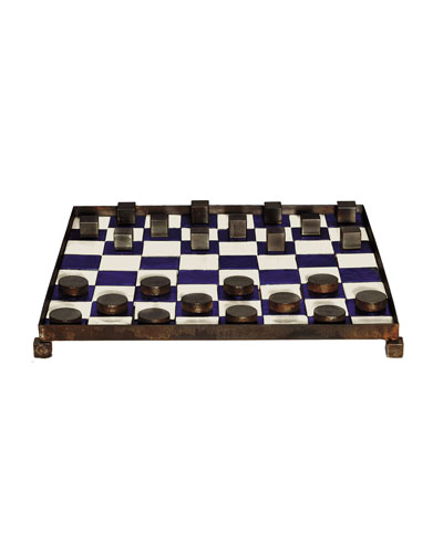Las Damas Checkers Game