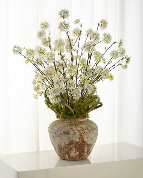 John-Richard Collection Asian Cherry Blossom Arrangement
