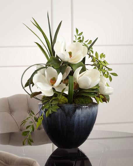 Grand Magnolia Floral Arrangement