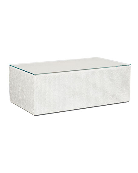 Octavia Arctic Marble Coffee Table