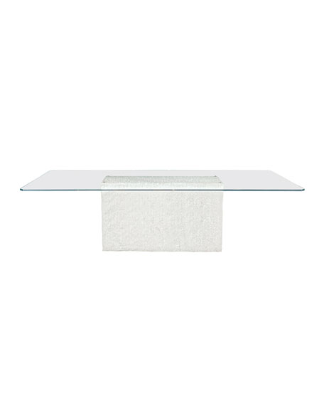 Octavia Arctic Marble Dining Table