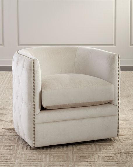 Bernhardt Palazzo Swivel Chair