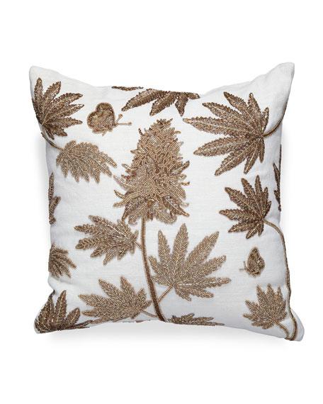 Jonathan Adler Botanist Ganja Pillow