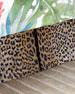 Cheetah Twin Dust Skirt