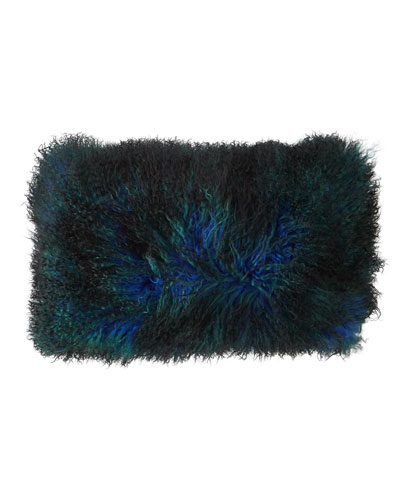 Triple Dipped Mongolian Fur Solstice Pillow