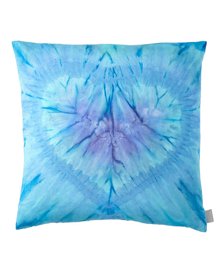 Aviva Stanoff One Love in Azure Pillow
