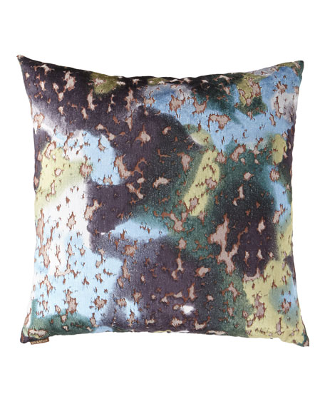 "Martini Lapis Pillow - 24""Sq."