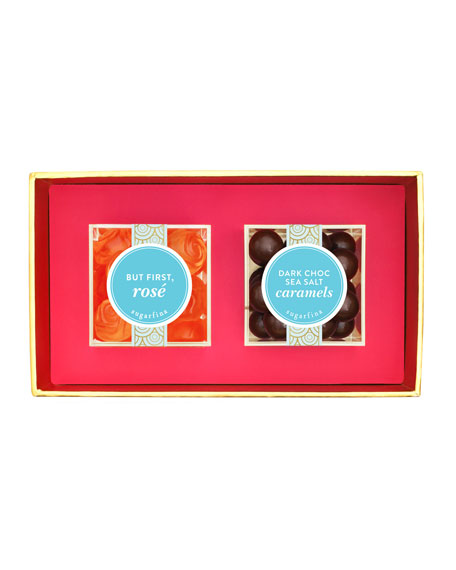 Floral 2-Piece Candy Bento Box
