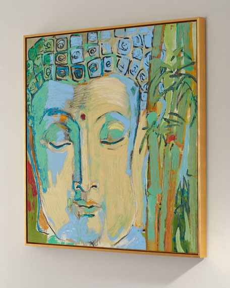 """Buddah"" Giclee Canvas Art by Robert Robinson"
