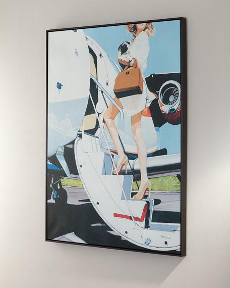 """Jet Setter"" Giclee Canvas Art by Jeff Schaub"