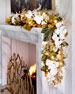 Gold Christmas 6' Prelit Garland