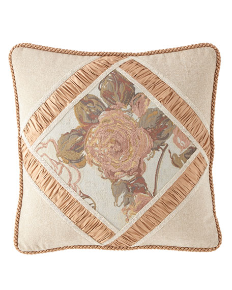 Austin Horn Collection Beauty Framed Pillow