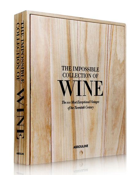 """The Impossible Collection of Wine"" Book"