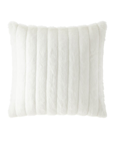 Faux Fur European Sham