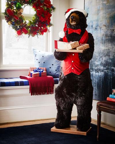 Christmas Santa Bear Butler  58