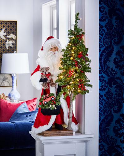 Christmas Magic Table Top Santa