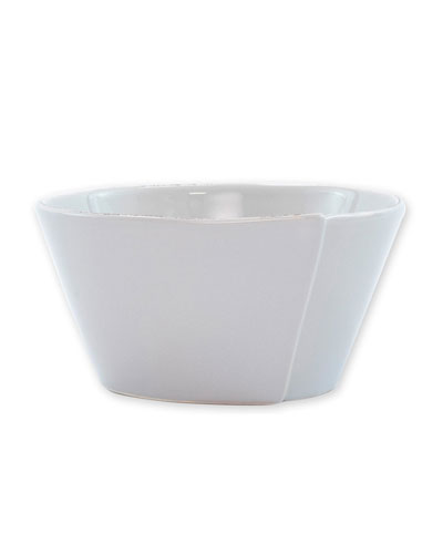 Lastra Stacking Cereal Bowl  Light Gray