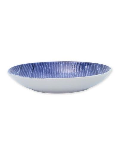 Santorini Stripe Pasta Bowl