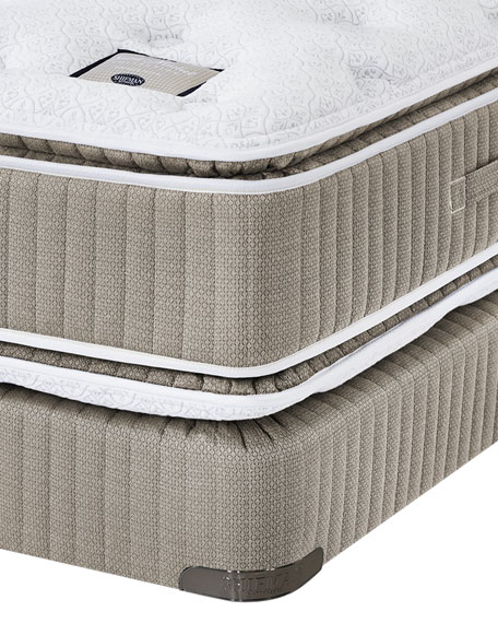 Saint Prince Noir Collection Full Mattress & Box Spring Set