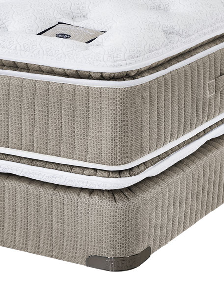 Saint Prince Noir Collection King Mattress & Box Spring Set