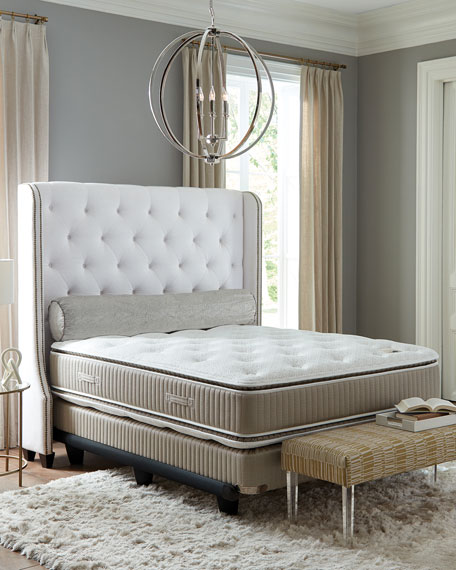 Saint Prince Noir Collection Queen Mattress & Box Spring Set