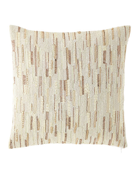 Austin Horn Collection Beaded Pillow
