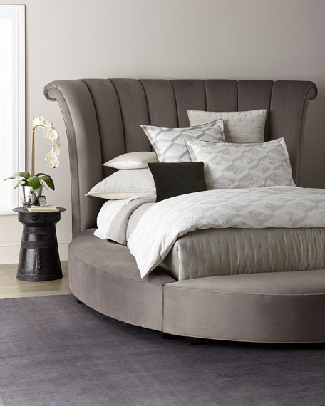 Haute House Katya Round Queen Platform Bed