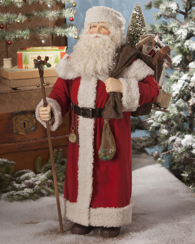 Santa with Bag of Toys