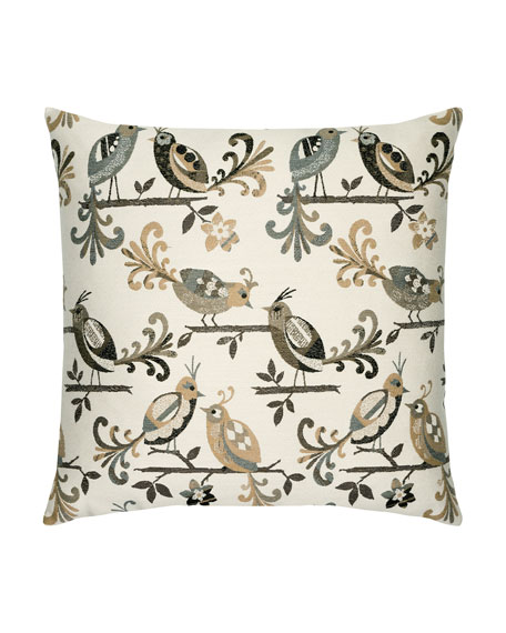Lovebirds Pillow