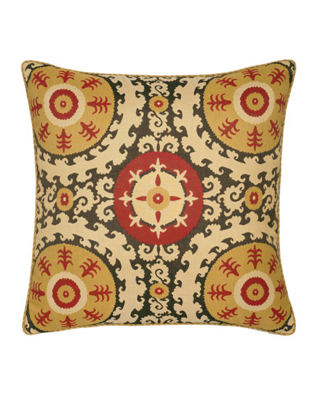 Suzani Sunbrella Pillow